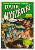 Golden Age (1938-1955):Horror, Dark Mysteries #12 (Master Publications, 1953) Condition: VF-....