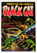 Golden Age (1938-1955):Horror, Black Cat Mystery #47 (Harvey, 1953) Condition: FN/VF....