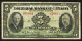 Canadian Currency: , Toronto, ON - Imperial Bank of Canada $5 Jan. 3, 1939 Ch. #375-24-02. ...
