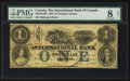 Canadian Currency: , Toronto, ON - The International Bank $1 Sep. 15, 1858 Ch. #380-10-14-08. ...