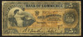 Canadian Currency: , Toronto, ON - Canadian Bank of Commerce $5 May 1, 1912 Ch. #75-14-14a. ...