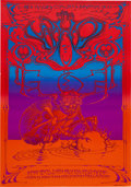 Music Memorabilia:Posters, The Who/Poco Hollywood Palladium Concert Poster (Magic Circus,1969)....