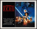 "Movie Posters:Science Fiction, Return of the Jedi (20th Century Fox, 1983). Half Sheet (22"" X 28"")Style B. Science Fiction.. ..."