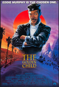 """The Golden Child (Paramount, 1986). Autographed One Sheet (27"""" X 40""""). Action"""
