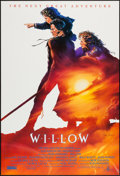 """Movie Posters:Fantasy, Willow (MGM, 1988). Autographed One Sheet (27"""" X 40""""). Style A.Fantasy.. ..."""