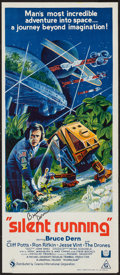 """Movie Posters:Science Fiction, Silent Running (Universal, 1972). Autographed Australian Daybill(13"""" X 30""""). Science Fiction.. ..."""