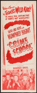 "Movie Posters:Crime, Crime School and Others Lot (Warner Brothers, R-1947). Inserts (3)(14"" X 36""), and One Sheets (3) (27"" X 41""). Crime.. ... (Total: 6Item)"