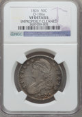 Bust Half Dollars: , 1826 50C -- Improperly Cleaned -- NGC Details. VF. O-106a. NGCCensus: (14/1492). PCGS Population (16/1794). Mintage: 4,00...
