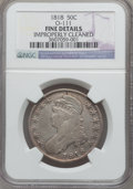 Bust Half Dollars: , 1818 50C -- Improperly Cleaned -- NGC Details. Fine. O-111. NGCCensus: (6/740). PCGS Population (7/763). Mintage: 1,960,3...