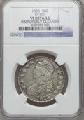 Bust Half Dollars, 1825 50C -- Improperly Cleaned -- NGC Details. VF. O-101. NGCCensus: (13/1039). PCGS Population (8/1228). Mintage: 2,900,...