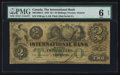 Canadian Currency: , Toronto, ON - The International Bank $2 Sep. 15, 1858 Ch. #380-10-06-12. ...