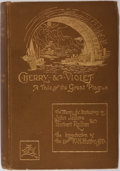 Books:Literature Pre-1900, [Anne Manning]. Cherry & Violet. A Tale of the GreatPlague. Charles Scribner's Sons, 1896. Twenty-six illustrat...