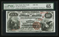 National Bank Notes:New York, New York, NY - $10 1882 Brown Back Fr. 480 The NB of Commerce Ch. # (E)733. ...