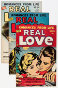 Golden Age (1938-1955):Romance, Real Love Group (Ace Periodicals, 1951-56) Condition: AverageVF+.... (Total: 11 Comic Books)