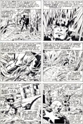 Original Comic Art:Panel Pages, Jack Kirby and Frank Giacoia Captain America #207 Page 23Original Art (Marvel, 1977)....