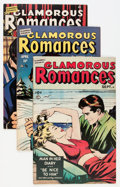 Golden Age (1938-1955):Romance, Glamorous Romances #42-89 Group (Ace, 1949-56) Condition: Average VF.... (Total: 24 Comic Books)