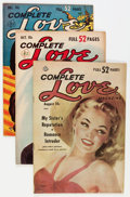 Golden Age (1938-1955):Romance, Complete Love Magazine Group (Ace, 1951-55) Condition: AverageFN/VF.... (Total: 13 Comic Books)