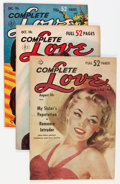 Golden Age (1938-1955):Romance, Complete Love Magazine Group (Ace, 1951-56) Condition: AverageFN.... (Total: 15 Comic Books)