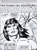 Original Comic Art:Splash Pages, John Buscema and Ernie Chan Conan the Barbarian #98 SplashPage 1 Original Art (Marvel, 1979)....