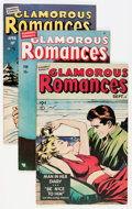 Golden Age (1938-1955):Romance, Glamorous Romances Group (Ace, 1949-56) Condition: Average VG....(Total: 12 Comic Books)