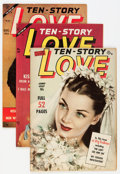 Golden Age (1938-1955):Romance, Ten Story Love Group (Ace, 1951-56) Condition: Average VF.... (Total: 14 Comic Books)