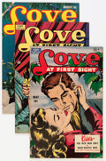 Golden Age (1938-1955):Romance, Love at First Sight Group (Ace, 1950s) Condition: Average VF....(Total: 11 Comic Books)
