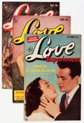 Golden Age (1938-1955):Romance, Love Experiences Group (Ace, 1950s) Condition: Average VF....(Total: 5 Comic Books)