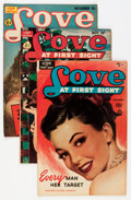 Golden Age (1938-1955):Romance, Love at First Sight Group (Ace, 1950s) Condition: Average FN.... (Total: 17 Comic Books)
