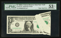 Fr. 1915-B $1 1988A Federal Reserve Note. PMG About Uncirculated 53 EPQ