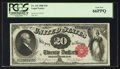 Large Size:Legal Tender Notes, Fr. 142 $20 1880 Legal Tender PCGS Gem New 66PPQ.. ...
