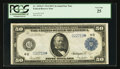 Large Size:Federal Reserve Notes, Fr. 1039a* $50 1914 Federal Reserve Note PCGS Very Fine 25.. ...