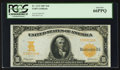 Large Size:Gold Certificates, Fr. 1172 $10 1907 Gold Certificate PCGS Gem New 66PPQ.. ...