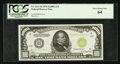 Small Size:Federal Reserve Notes, Fr. 2211-H $1000 1934 Light Green Seal Federal Reserve Note. PCGS Very Choice New 64.. ...