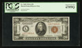 Small Size:World War II Emergency Notes, Fr. 2305 $20 1934A Hawaii Federal Reserve Note. PCGS Superb Gem New67PPQ.. ...