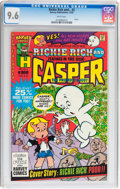 Modern Age (1980-Present):Cartoon Character, Richie Rich and... #2 (Harvey, 1987) CGC NM+ 9.6 White pages....