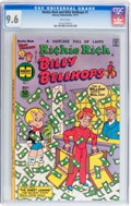 Bronze Age (1970-1979):Cartoon Character, Richie Rich and Billy Bellhops #1 (Harvey, 1977) CGC NM+ 9.6 White pages....