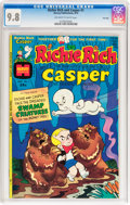 Bronze Age (1970-1979):Cartoon Character, Richie Rich and Casper #1 File Copy (Harvey, 1974) CGC NM/MT 9.8Off-white to white pages....