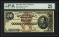 Large Size:Silver Certificates, Fr. 311 $20 1880 Silver Certificate PMG Very Fine 25.. ...