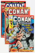 Bronze Age (1970-1979):Adventure, Conan the Barbarian Group (Marvel, 1970-73) Condition: Average FN.... (Total: 23 Comic Books)