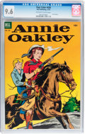 Golden Age (1938-1955):Western, Four Color #438 Annie Oakley (Dell, 1952) CGC NM+ 9.6 Off-white towhite pages....