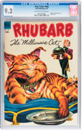 Golden Age (1938-1955):Miscellaneous, Four Color #466 Rhubarb the Millionaire Cat (Dell, 1953) CGC NM- 9.2 Off-white to white pages....