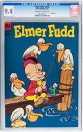 Golden Age (1938-1955):Cartoon Character, Four Color #470 Elmer Fudd (Dell, 1953) CGC NM 9.4 Off-white towhite pages....