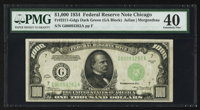 Fr. 2211-G $1000 1934 Federal Reserve Note. PMG Extremely Fine 40