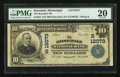 National Bank Notes:Mississippi, Rosedale, MS - $10 1902 Plain Back Fr. 634 The Rosedale NB Ch. # (S)12073. ...