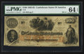 Confederate Notes:1862 Issues, Gutter Printing Error T41 $100 1862 PF-11 Cr. 319A.. ...