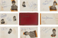 Music Memorabilia:Autographs and Signed Items, Beatles, Rolling Stones, and Other British Rock Autographs (early1960s). ...