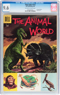Silver Age (1956-1969):Adventure, Four Color #713 The Animal World (Dell, 1956) CGC NM+ 9.6 Off-white to white pages....