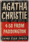 Books:Mystery & Detective Fiction, Agatha Christie. 4.50 From Paddington. The Crime Club, 1957.First edition. Publisher's original cloth and dust ...