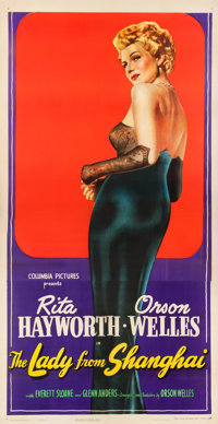 """The Lady from Shanghai (Columbia, 1947). Three Sheet (41"""" X 80"""")"""
