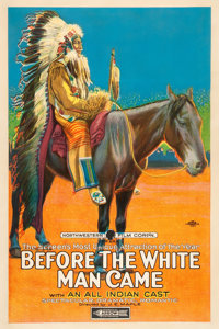 "Before the White Man Came (Arrow Film, 1920). One Sheet (27"" X 41"")"